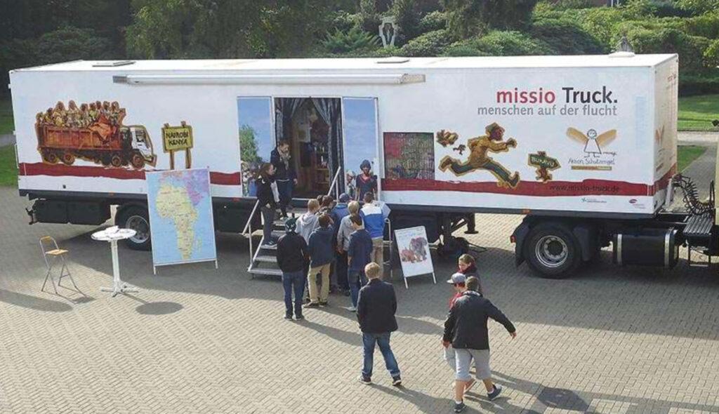 der missio truck kommt