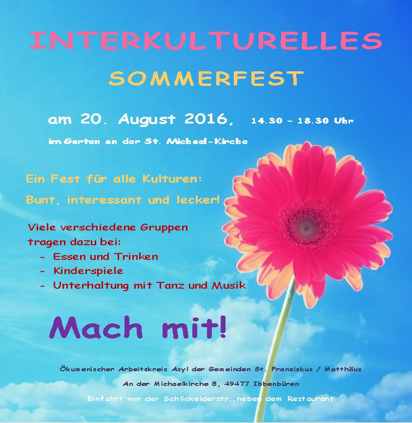 Sommerfest 2016 Homepage